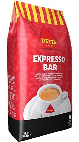 Röstkaffee mit glasierten Bohnen, ganze Bohne - Café Delta Expresso Bar 70/30