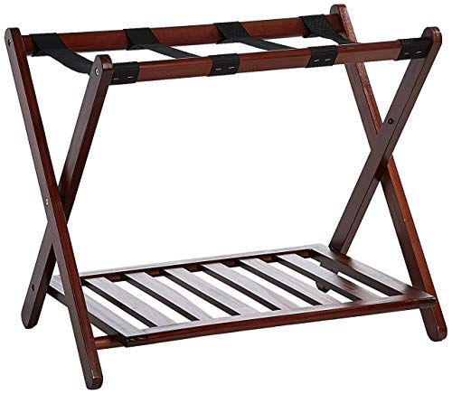 Review Of Casual Home  Luggage Rack, Walnut (Renewed)