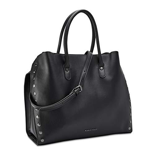 MARCO TOZZI Damen Handtasche 2-2-61014-25, Black, 1 EU
