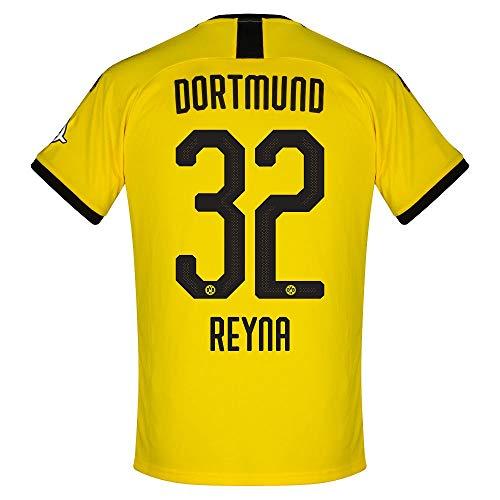 PUMA Borussia Dortmund Home Reyna 32 Trikot 2019-2020 (Offizielle Beflockung) - S