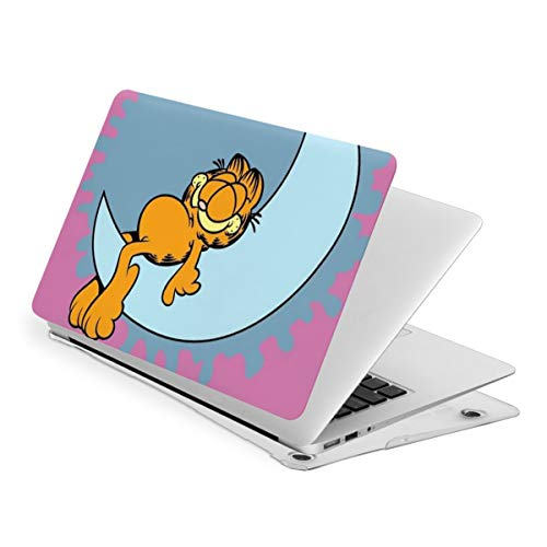 Cartoon Garfield Laptop Case MacBook Non-Slip Durable Waterproof Plastic Hard Shell Case,for MacBook New Air 13/Air 13/15 Inch/Touch 13/15inch PVC Laptop Protective Cover New air13