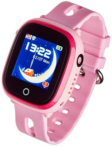 Garett Kinder Glücklich Smartwatch, Rosa