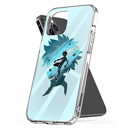 Phone Case Thunderbold Killua Compatible with iPhone 6 6s 7 8 X XS XR 11 Pro Max SE 2020 Samsung Galaxy Charm Tested