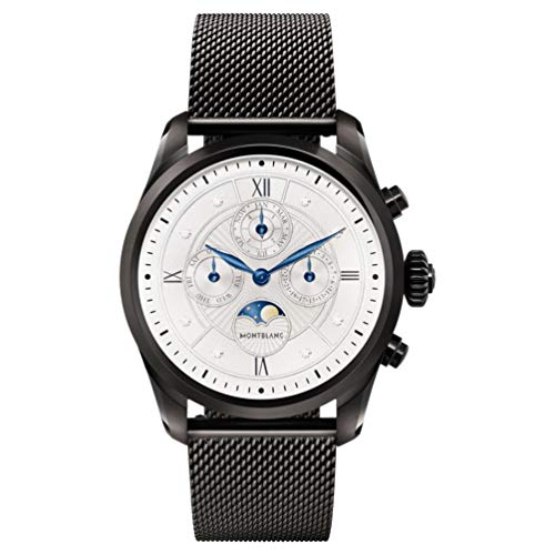 Montblanc Summit 2 Smartwatch 119723 Noir et bracelet milana