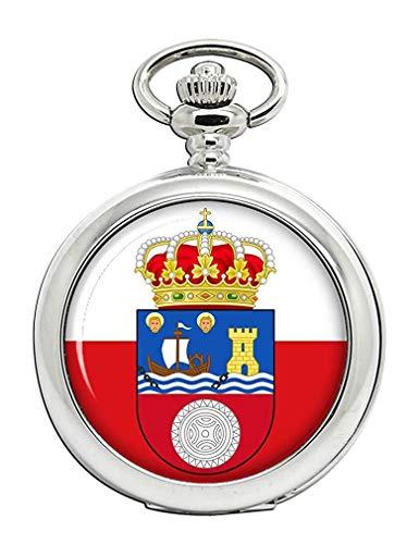Cantabria (España) Reloj Bolsillo Hunter Completo