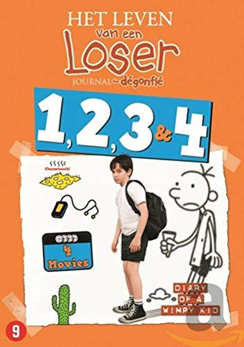 Diary of A Wimpy Kid-Coffret 4 Films [DVD]