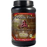 HealthForce SuperFoods Warrior Food - 1000 Grams, Vanilla Flavor - All Natural Plant Based Protein Powder - Organic, Non GMO, Vegan, Gluten Free - 50 Servings