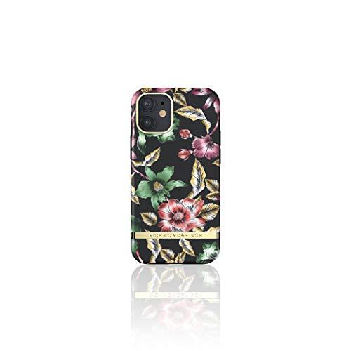 RICHMOND & FINCH Custodia Per Telefono Progettata Per iPhone 12 Mini Custodie, 5.4 Pollici, Silver Jungle Custodia, Custodie a Prova Di Caduta, Bordi Rialzati Antiurto, Custodia Protettiva