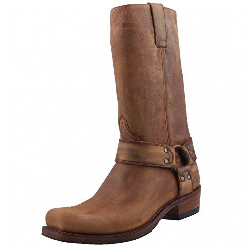 Sendra Biker Boots 8833 braun/antik, Schuhgröße:EUR 46