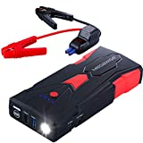 MEGAWISE 1500A Peak 16800mAh Car Jump Starter (Up to 7L Gas or 5L Diesel Engine), 12V Portable Power Pack Auto Battery Booster with USB Quick Charge 3.0