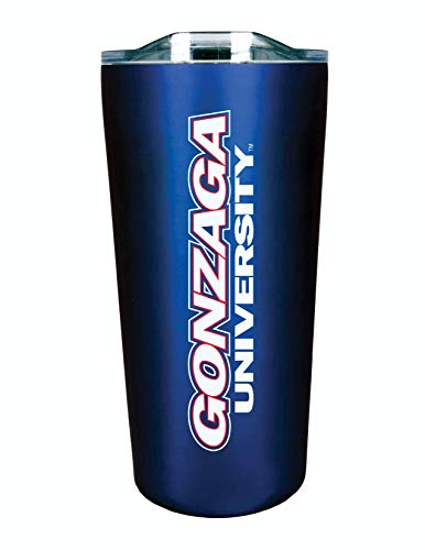 Gonzaga University Bulldogs 18oz Stainless Steel Double Walled Beverage Tumbler with Open and Close Lid - College Gear for March Madness - For Office, Home or Auto - Show your Gonzaga Pride -  Fanatics Group, RSST2Gonzaga