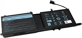 DELL 9NJM1 99Wh 交換用ノートバッテリー DELL ALIENWARE 15 R3 9NJM1 P31E 17 R4 r5 ノートパソコンバッテー 電池 dell 9njm1 バッテリー 11.4V