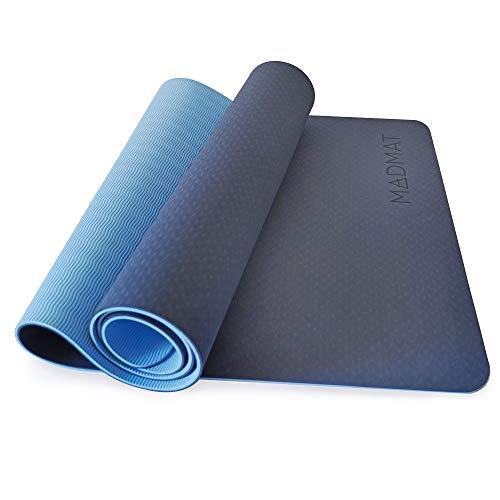 Esterilla Yoga de TPE Antideslizante de doble cara con Funda
