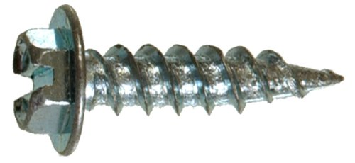 The Hillman GroupThe Hillman Group 35258 Hex Washer Head Self-Piercing Screw 8 x 1/2 100-Pack