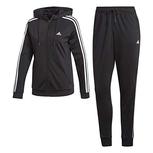 adidas Damen Trainingsanzug schwarz XL