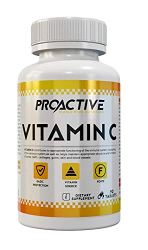 ProActive Worldwide Nutrition, Vitamin C 90 capsules | 90 dosis