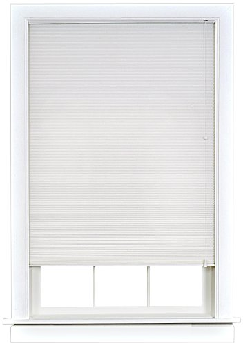 Achim Home Furnishings Honeycomb Cellular Shade, 23-Inch by 64-Inch, White