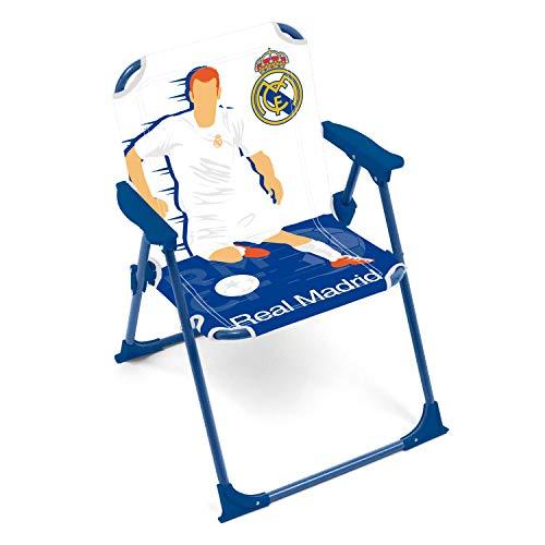 ARDITEX RM13732 Silla Plegable con Brazos de 38x32x53cm de Clubs-Real Madrid CF