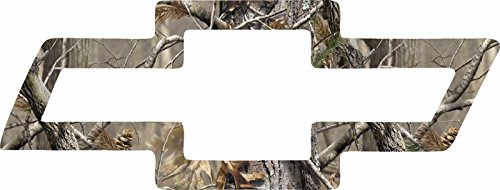 ION Graphics Chevy Bowtie Camouflage Redneck Country Hunter Off Road 4X4 Truck Sticker