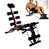 Goank 20 Different Mode for Exercise and Fitness Six Pack Abs Exerciser Machine for Exercise and Fitness Without Cycle for Home and Gym