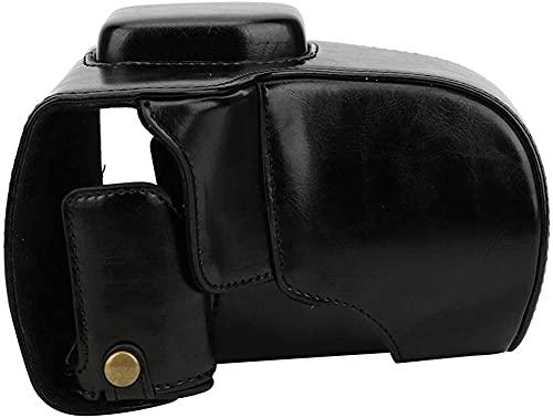 ZHENWULU Bolsa de cámara Paquete de cámara Estructura compacta Robusta para Fuji X-T30 para Fujifilm Instax para la cámara para Fuji (Negro)-Negro Excellent