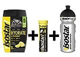 Isostar Hydrate & Perform Limon + limón Tabs + botella de 500 ml