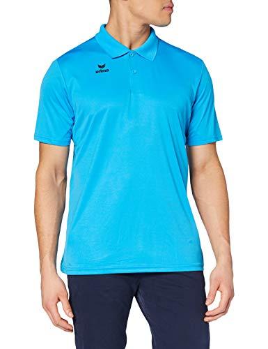 Erima Herren Funktions Poloshirt, Curacao, XL