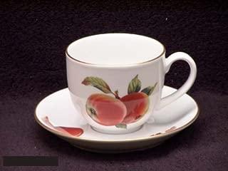 Royal Worcester Evesham Gold Teacup and Saucer