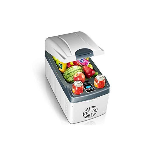 Electric Car koelkast, Portable Mini koelkast 12v 220v, dranken Thuis Cooler en Warmer Geschikt for 12V-24V Vehicle Voltage 220V AC 20L-Houdt 6 flessen van 1,25 l Cola LOLDF1