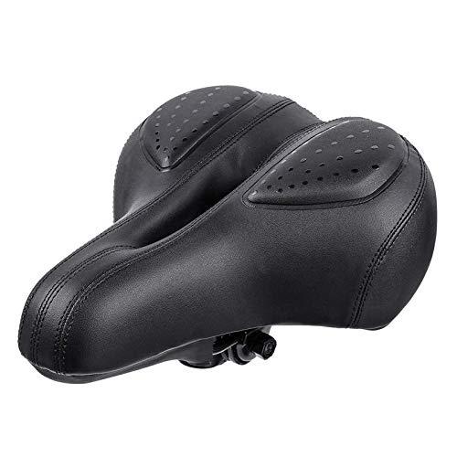 Lzcaure Asiento de bicicleta Bicicleta Sillín Asiento Amortiguador de Silicona Ergonómico para MTB Road Bike Para Hombres Mujeres Todo