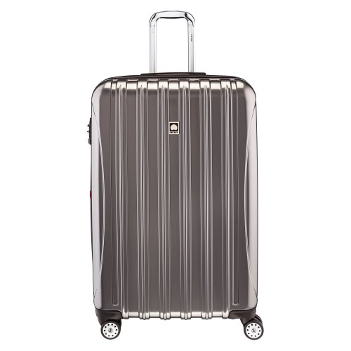 DELSEY Paris Helium Aero Hardside Expandable Luggage with Spinner Wheels, Titanium, Checked-Large 29 Inch