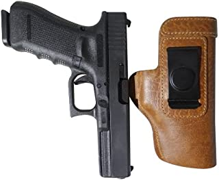 Don't Tread on Me Conceal and Carry Holsters Glock, Springfield XD, Ruger, Beretta, S&W, Taurus CCW IWB Premium Buffalo Leather Gun Holster - Right Handed