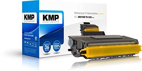 KMP Toner für Brother HL-5340 - Druckkartusche Schwarz - Kompatibel - Tonerkartusche für TN-3230 - Office Druckerkartusche