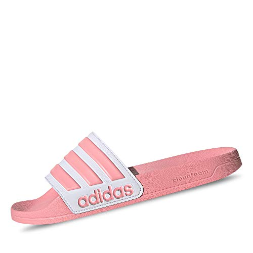 adidas Adilette Shower, womens Slide, Glory Pink/Footwear White/Glory Pink, 40.5 EU