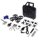 Homyl Mini Drone DIY Modèle Avion Assemblage Kit UAV Télécommande Quadcopter 2.4G pour Débutants Enfants Jouets