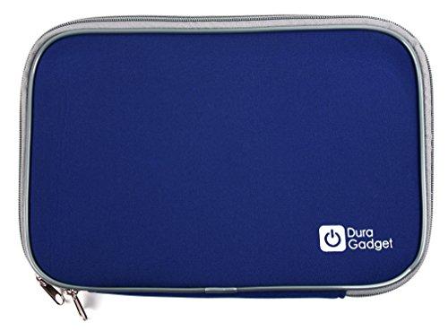 DURAGADGET Funda Azul De Neopreno para Tablet SPC Glow 10, SPC Glee 10.1 Quad Core - con Cierre De Cremallera
