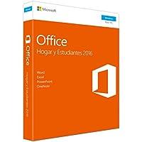 Microsoft - Office Hogar y Estudiantes 2016 - 1 licencia para PC