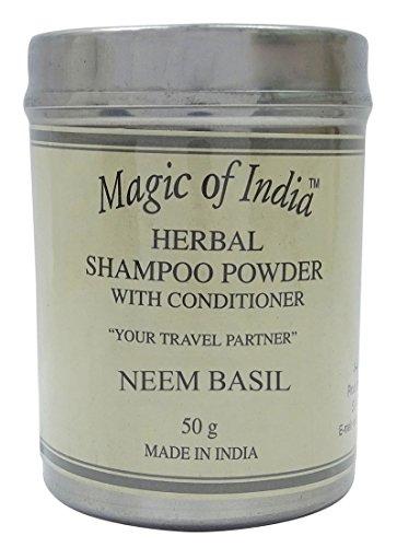 Magie von Indien Kräuter Duft Shampoo Pulver mit Conditioner - Wählen Sie Düfte