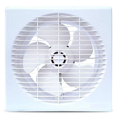 LXZDZ Ventilación de la salida del ventilador, ventilador de escape fuerte extractora de montaje en pared de escape Ventilador de techo ventiladores incorporados de ventilación del hogar sin enchufe