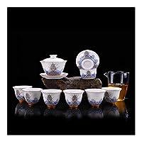 ティーポット セラミックティーセットフィリグリーエナメル - ジン四海水カップギフトセットリバーバンクWangai HYBJP (Color : Magnolia Cup)