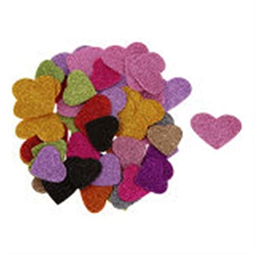 TLBBJ Juguetes artesanales 45 Pegatinas de Espuma de corazón Fotografías for niños for el Libro de Recuerdos Decoración de la Boda Artesanía Sencillo