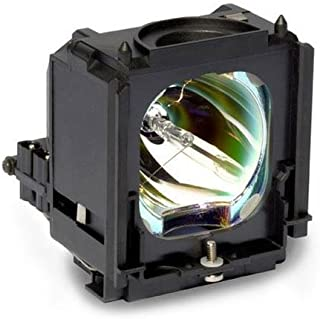 Compatible Samsung RPTV Lamp, Replaces Model HLS6187WX/XAA with Housing