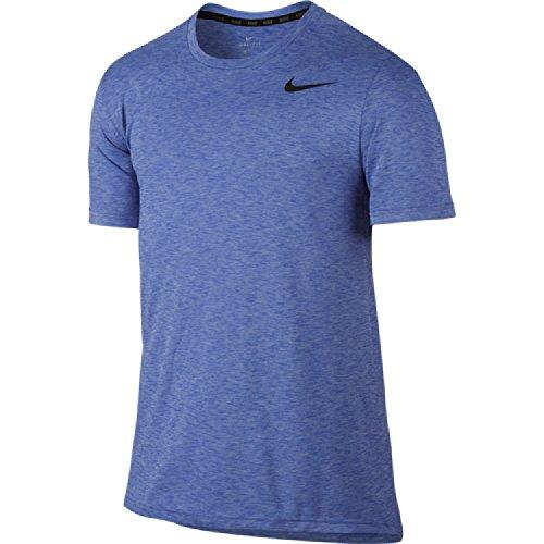 Nike Breathe Hyper Dry Tricot Homme, Bleu (Polar/Paramount Blue/Black), L