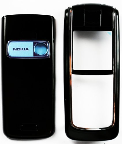 Guscio per Nokia 6020 Black (Front+B.C+Lens) (Original)