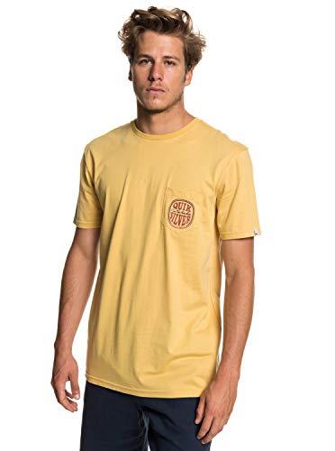 Quiksilver Quik Paradise T-Shirt Homme, Rattan, FR : M (Taille Fabricant : M)