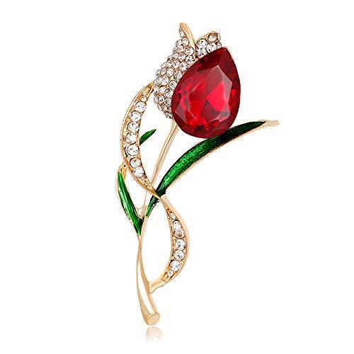 Wbmmctt Modischer Diamant Mit Tulpenkruste, Wasserbohrkorsettblume