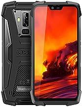 Blackview BV9700 Pro movil antigolpes Todoterreno - 5.84 Pulgadas FHD + IP68 Smartphone Resistente Agua y Golpes, Helio P70 6GB + 128GB Android 9.0, Calidad del Aire y Monitor de frecuencia cardíaca