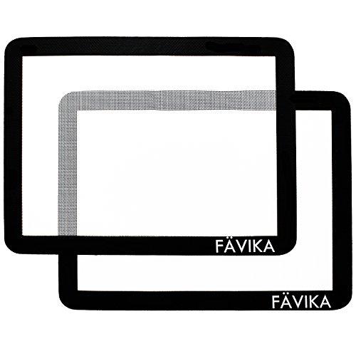 FAVIKA Silicone Baking Mat Set X2 - Premium 100% BPA Free - Non-Stick...
