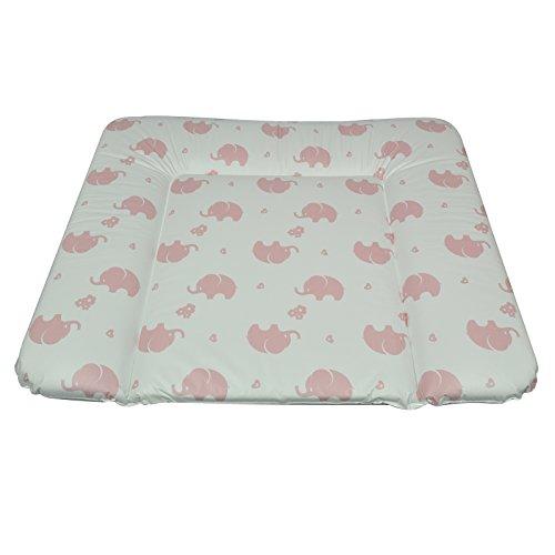 AsMi Wickelauflage Soft Elefant rosenquarz 72x85 cm