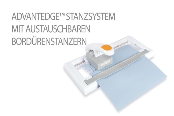 Zum Ausstanzen von Bord/üren f/ür den Stanzer Art.-Nr.: 1004688 1004696 Fiskars Kartusche mit Bord/üren-Muster